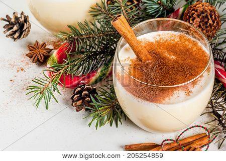 Traditional Christmas Drink Eggnog