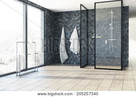 Marble Bathroom, Shower