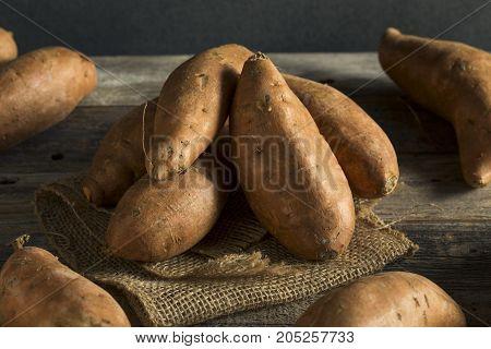 Raw Orange Organic Sweet Potato Yams