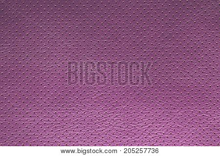Purple violet perforated leather texture background suede dots