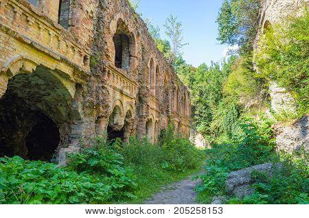 The Ruins Of Old Fort Tarakanov
