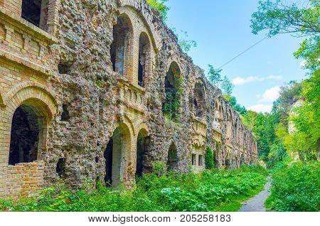 Walking In Tarakanov Fort