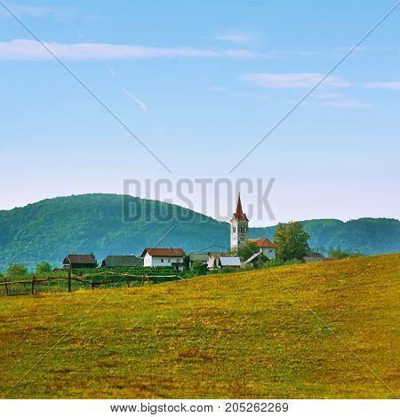 Village In Slovenia