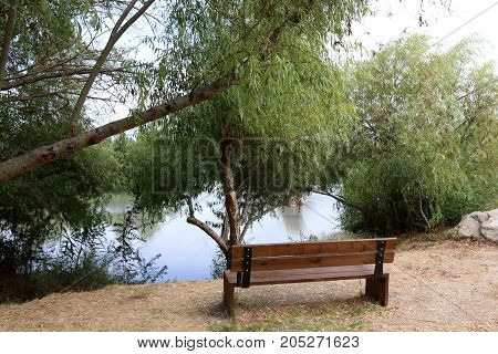 walk in the nature reserve of Ein Afek in the north of Israel