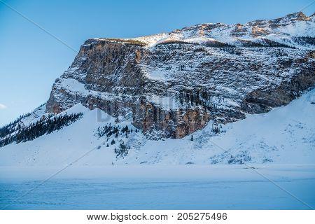 Rocky Mountain Near Lake Louise