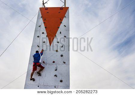 Person Practicing Extreme Sportelderly