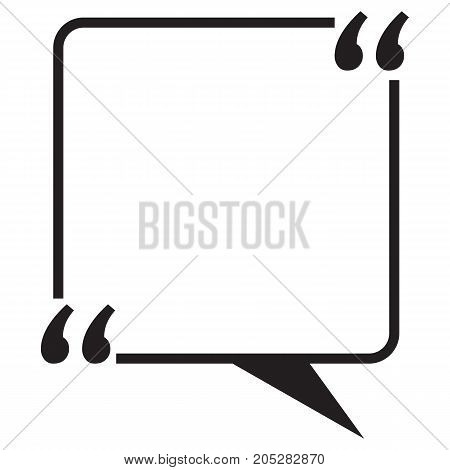 Quote blank template Speech Bubble Bubble Geographical Border