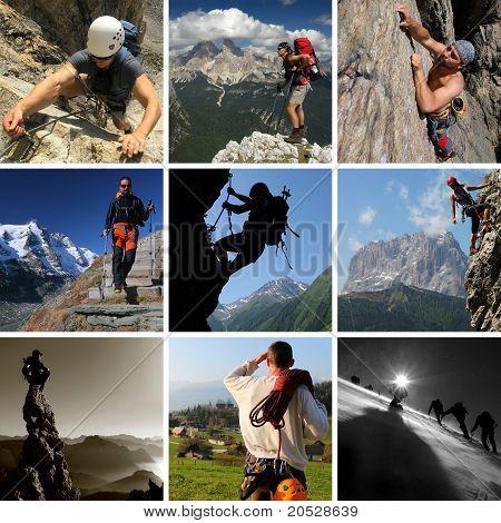 Mountain summer sports