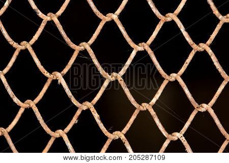 Background of the metal mesh . Photo as an abstract background