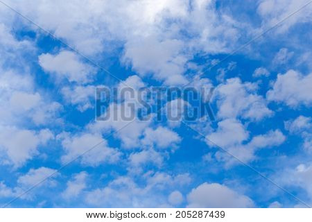 clouds after a thunderstorm . Photo as an abstract background