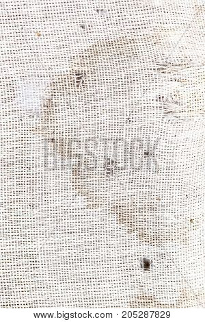stains on the old fabric . Photo as an abstract background