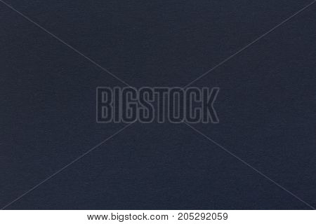 Canvas surface paper dark blue color of the background grunge texture for text. High quality texture in extremely high resolution