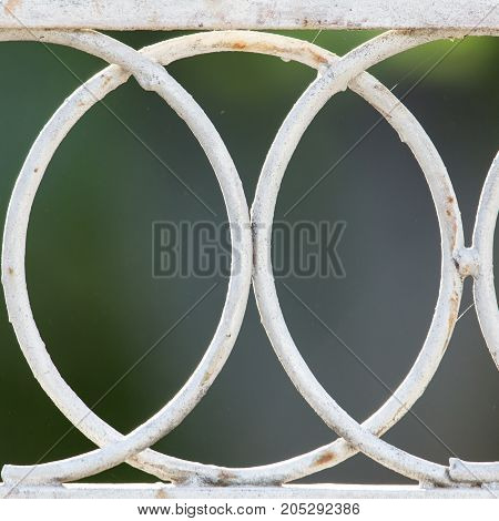 Background of the metal mesh fence . Photo as an abstract background