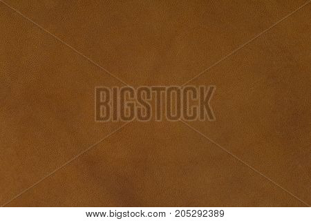 Brown natural leather. Beautiful pattern background. High resolution photo.