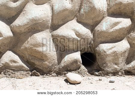 abstract background concrete wall stone . Photo as an abstract background