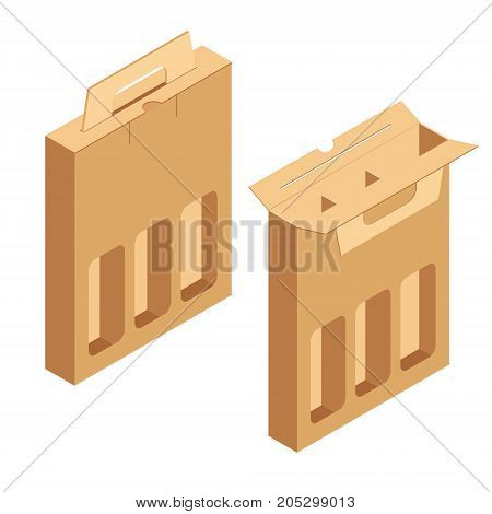 Alcohol Cardboard Pack