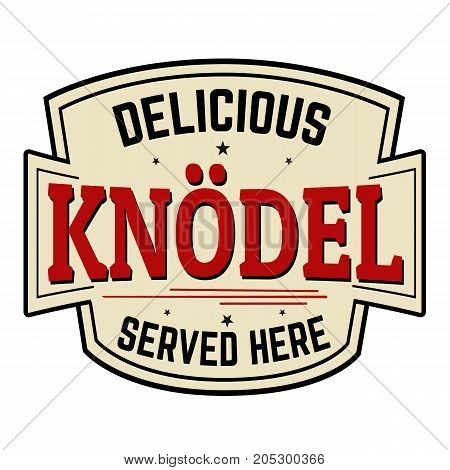 Knodel Sticker Or Label