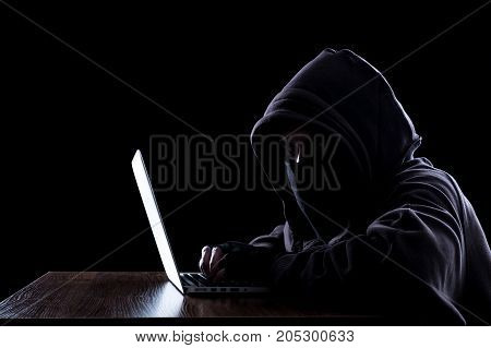 Anonymous Hacker In The Dark