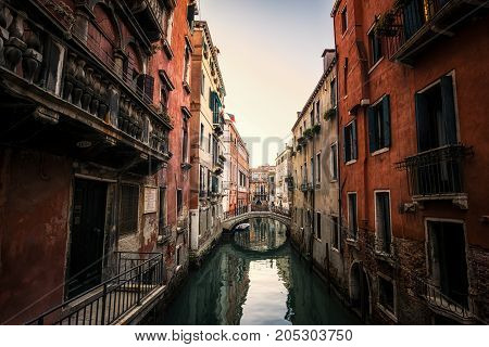 Venice Canal In The Morning