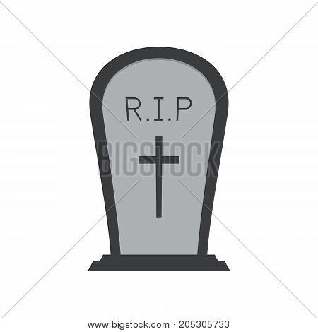 Halloween Gravestone Or Tombstone Or Headstone