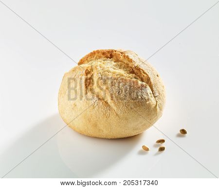 Fresh bread rolls. bread rolls on white isolated background