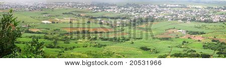 View from Le Pouce Mountain, Mauritius