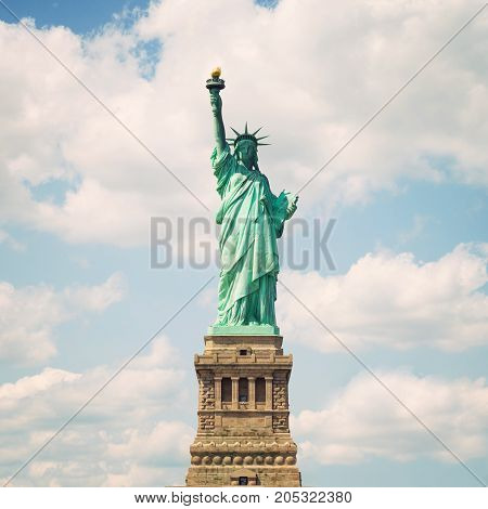 Statue of Liberty in New York City USA