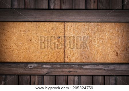 Pressed Wooden Panel  Texture On Wooden Background