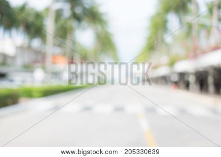 Abstract blur background from corridor for design