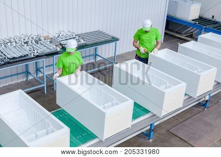 Plant For The Production Of Refrigerators