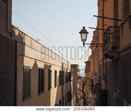 Castello Quarter In Cagliari