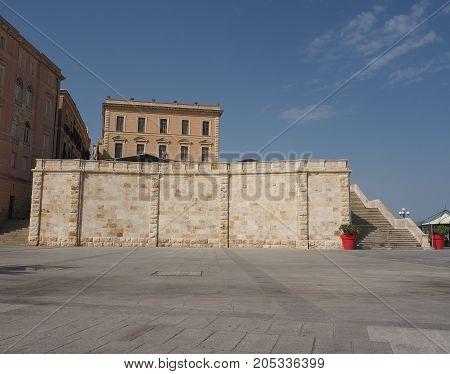 Casteddu (meaning Castle Quarter) In Cagliari