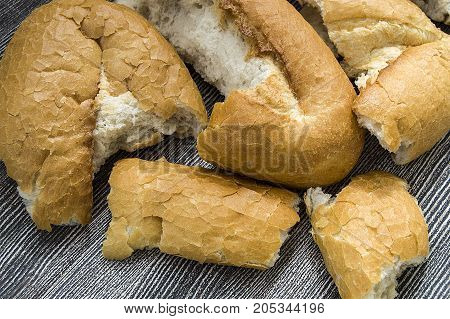 wasted bread, tossing breads and buying too much bread in vain, stale breads,