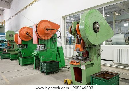Press Mold Machine In Factory