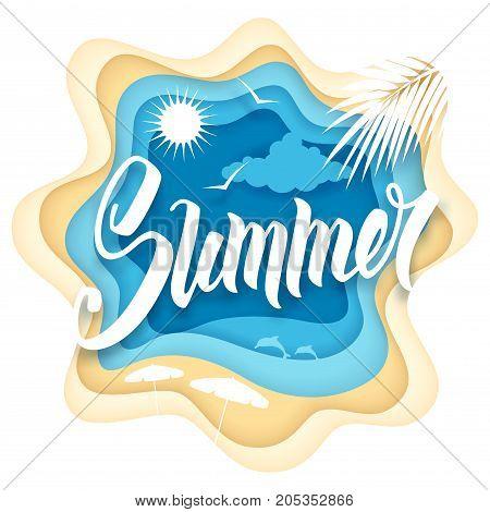Summer Paper Art