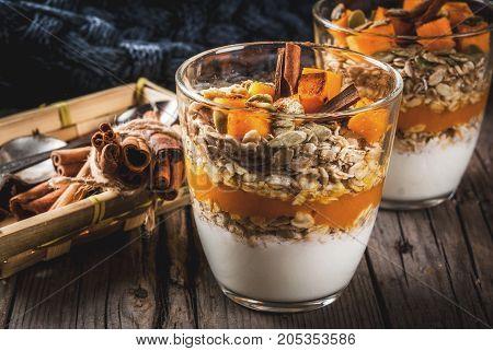 Pumpkin Pie Overnight Oatmeal