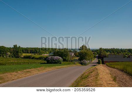 Danish Countryside Landscape
