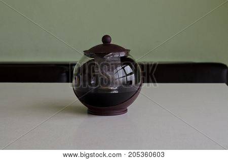 A pot of tea or a jug of tea