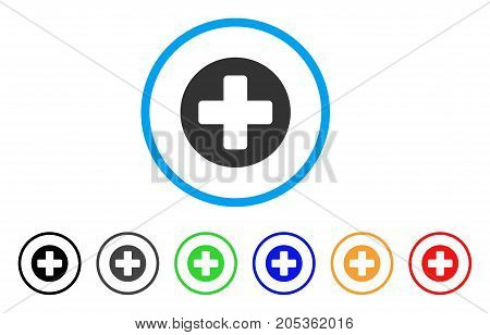 Medical Rounded Cross Vector Photo Free Trial Bigstock