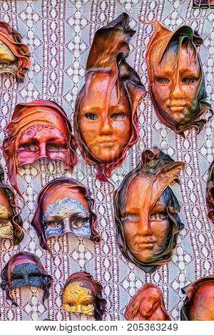 Masks For Sale In Preparation For Celebration