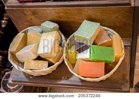 Collection Of Bars Of Hand Made Soap