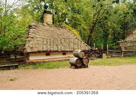 Old tavern in Kiev capital of Ukraine
