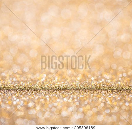 Christmas And New Year Background. Bright Christmas Lights. Festive Or Holiday, New Year Abstract Bl