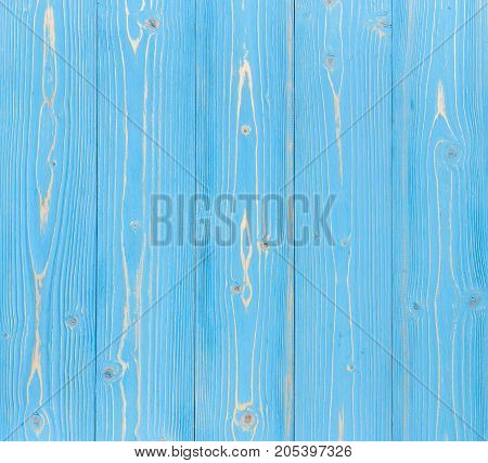 Blue Pine Wooden Wall Texture Use For Background Or Interior Wall Paper Design