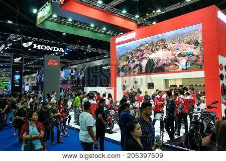 Bangkok Motor show Thailand Muang Thong Thani - March 302017 : Ducati Motor Show Booth .