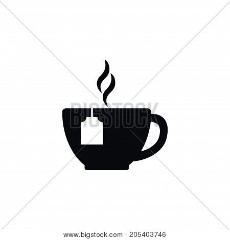 Tea Bag Vector Element Can Be Used For Tea, Bag, Morning Design Concept.  Isolated Morning Icon.