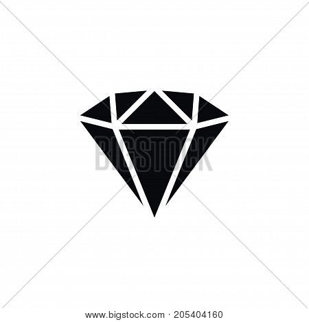 Jewel Vector Element Can Be Used For Brilliant, Jewel, Precious Design Concept.  Isolated Brilliant Icon.