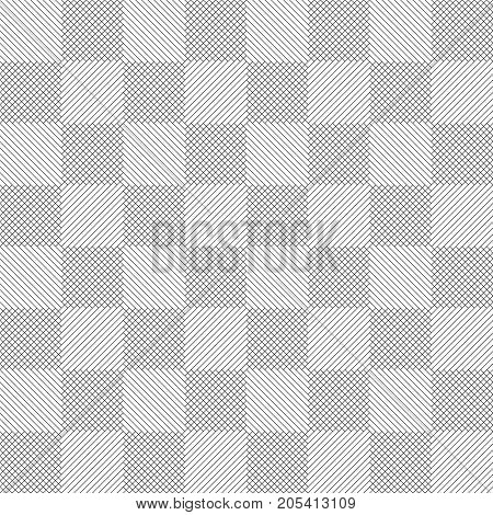 Plaid seamless pattern. Classical tablecloth texture. Checkered fabric background. Regularly repeating diagonal thin lines rhombuses. Modern linear design.