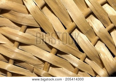 wicker as background. macro . Photo of an abstract texture