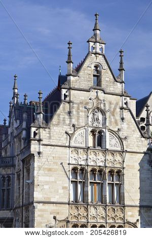 Old House In Ghent, Belgium